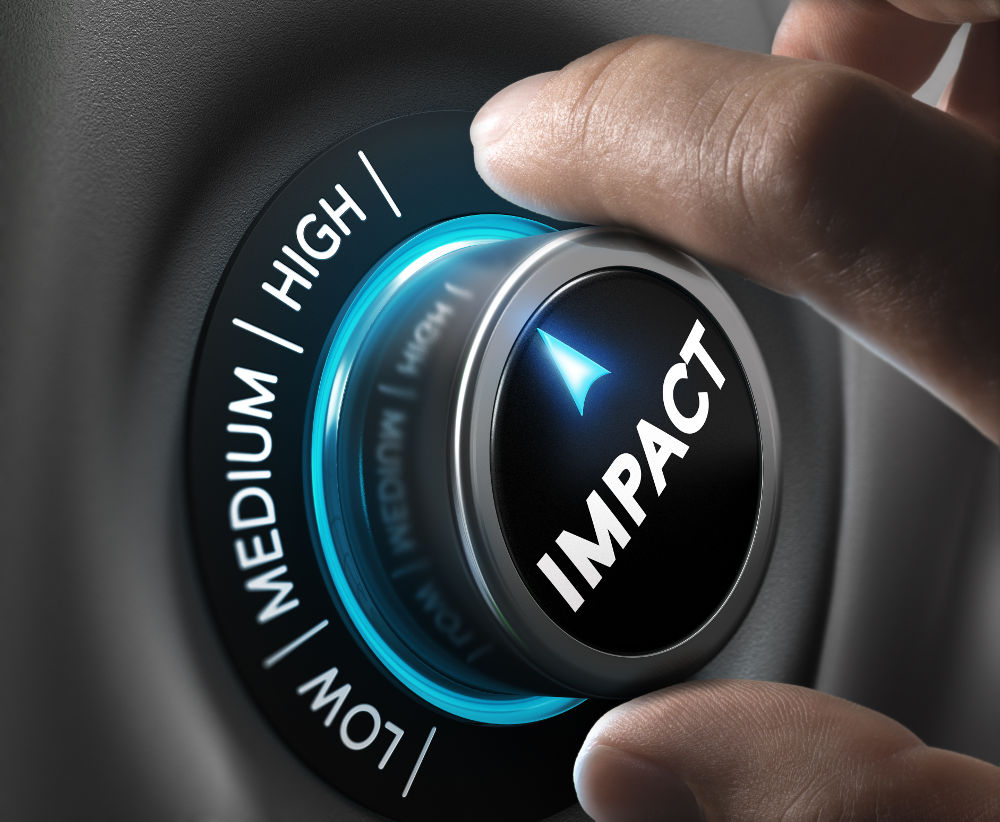 What is a high-impact communication?